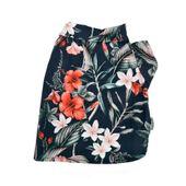 Camisa_Surf_Bichinho_Chic_Floral_Azul_frente