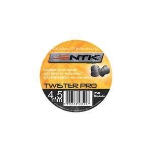 Chumbinho NTK Tático Twister - Chumbinho NTK Tático para tiro esportivo com grande poder de impacto e calibre 4,5 mm Twister