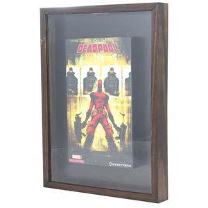 Quadro Coleção de Tampas Deadpool Marvel Comics