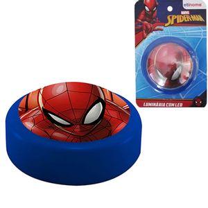 Luminaria de Toque LED e Adesivo 3D Homem Aranha - Spiderman