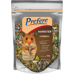 Alimento Mistura Para Hamster Prefere 500g