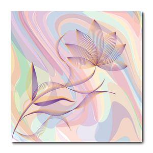 Placa Decorativa - Flores - 1426plmk