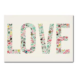 Placa Decorativa - Love - 0761plmk