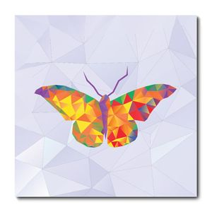 Placa Decorativa - Borboleta - 1621plmk