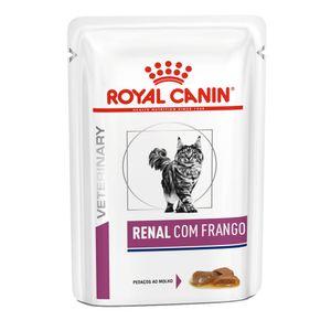 Ração Úmida Royal Canin Renal Gatos 85g
