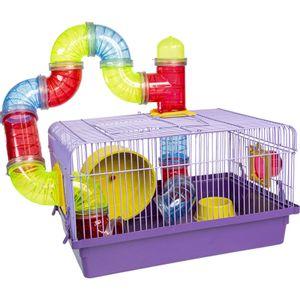 Gaiola para Hamster Labirinto Jel Plast