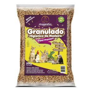 Menor preço em Granulado Higiênico De Madeira Super Premium Majestic Pet 20kg