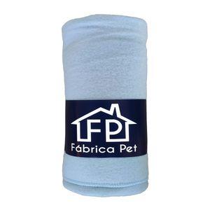 Cobertor Liso Azul Bebê Fábrica Pet