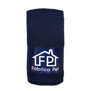 Cobertor Liso Azul Marinho Fábrica Pet