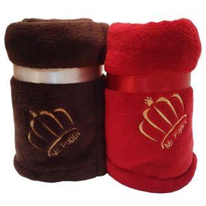 Cobertor para cachorro Mr. Puppy - Vermelho