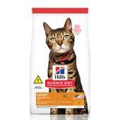 racao-hills-science-diet-gatos-adultos-light-frango-frente