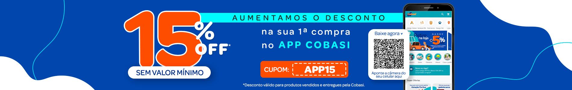 15%off App