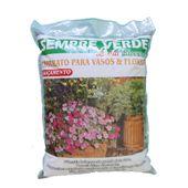 Substrato para Vasos e Floreiras Sempre Verde