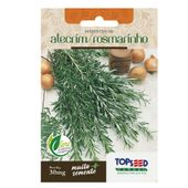 Semente Alecrim Rosamarinho Topseed Garden